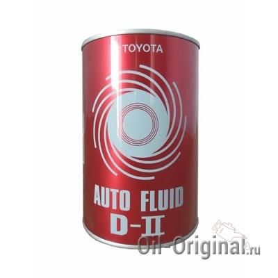 Жидкость для АКПП TOYOTA Auto Fluid D-2 (1л)