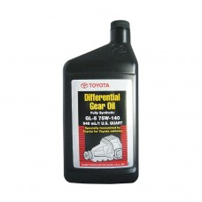 Трансмиссионное масло TOYOTA Differential Gear Oil Full Synthetic GL-5 75W-140 (0,946л)