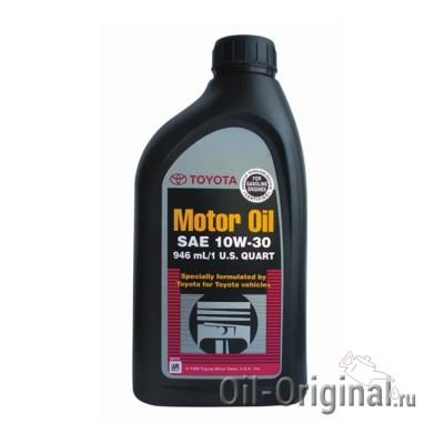 Моторное масло TOYOTA Motor Oil 10W30 SN/SM (0,946л)