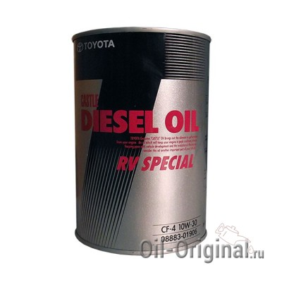 Моторное масло TOYOTA DIESEL RV SPECIAL 10W30 CF-4 (1л)
