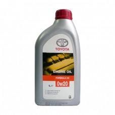 Моторное масло TOYOTA Engine Oil Formula XS 0W-20 SM/SL (1л)