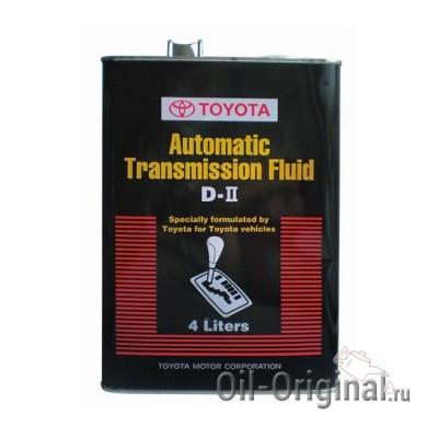 Жидкость для АКПП TOYOTA ATF D-2 (4л)