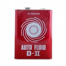 Жидкость для АКПП TOYOTA Auto Fluid D-2 (4л)