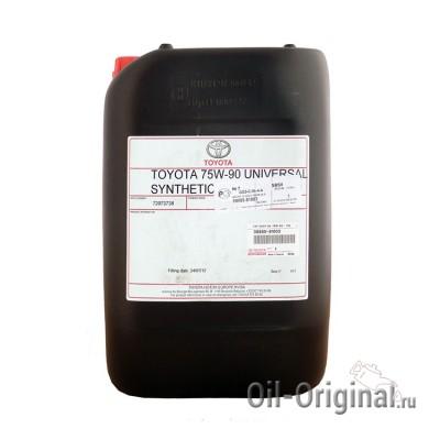 Трансмиссионное масло TOYOTA GL-4/5 75W-90 (20л)