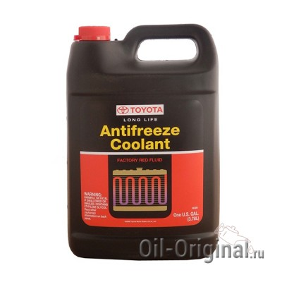 Антифриз TOYOTA LongLife Antifreeze Coolant (3,78л)