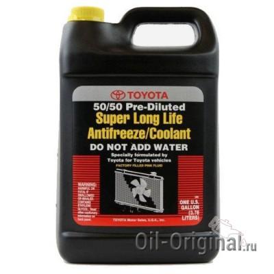 Антифриз TOYOTA Super LongLife Antifreeze Coolant (3,78л)