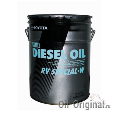 Моторное масло TOYOTA DIESEL RV SPECIAL 5W-30 CF-4 (20л)