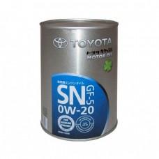 Моторное масло TOYOTA Motor Oil 0W-20 SN (1л)