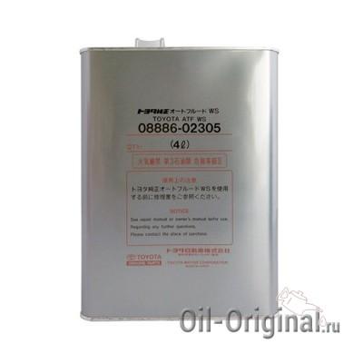 Жидкость для секвентальной AКПП TOYOTA ATF WS (4л)