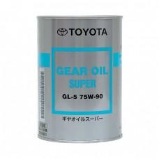 Трансмиссионное масло TOYOTA Gear Oil Super GL-5 75W90 (1л)