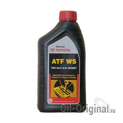 Жидкость для секвентальной AКПП TOYOTA ATF WS (0,946л)