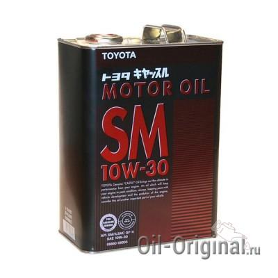 Моторное масло TOYOTA Motor Oil 10W-30 SM (4л)