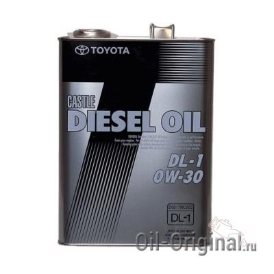 Моторное масло TOYOTA  Castle Diesel Oil 0W-30 DL-1 (4л)
