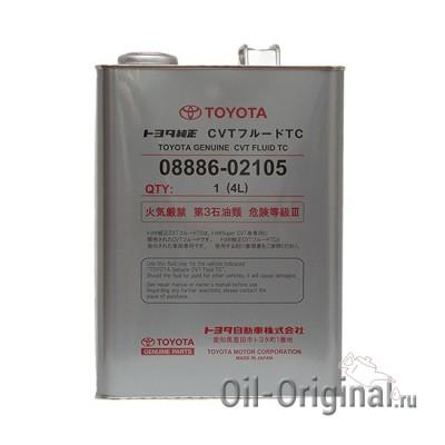 Трансмиссионное масло TOYOTA Genuine CVT Fluid TC (4л)