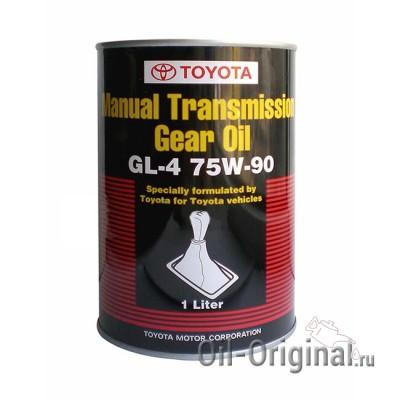 Трансмиссионное масло TOYOTA Manual Transmission Gear Oil GL-4 75W-90 (1л)