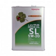 Моторное масло TOYOTA Motor Oil 5W20 SL (4л)