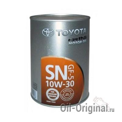 Моторное масло TOYOTA Motor Oil 10W-30 SN (1л)