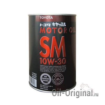 Моторное масло TOYOTA Motor Oil 10W-30 SM (1л)
