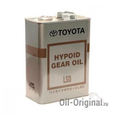 Трансмиссионное масло TOYOTA Hypoid Gear Oil LSD GL-5 85W-90 (4л)
