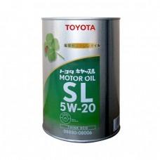 Моторное масло TOYOTA Motor Oil 5W20 SL (1л)