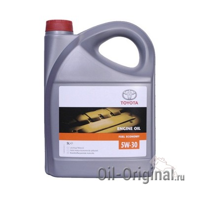 Моторное масло TOYOTA Engine Oil Fuel Economy 5W-30 SJ (5л)