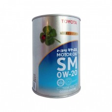 Моторное масло TOYOTA Motor Oil 0W20 SM (1л)