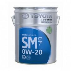 Моторное масло TOYOTA Motor Oil 0W20 SM (20л)