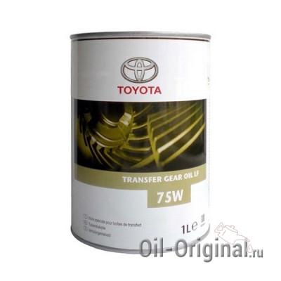 Трансмиссионное масло TOYOTA Transfer Gear Oil LF 75W (1л)