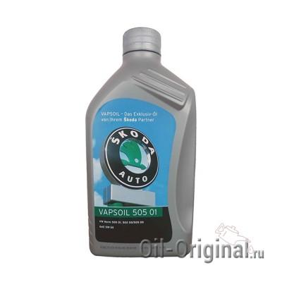 Моторное масло VAPSOIL Skoda 505 01 5W-30 (1л)