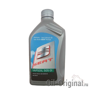 Моторное масло VAPSOIL Seat 505 01 5W-30 (1л)