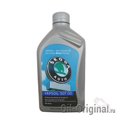 Моторное масло VAPSOIL Skoda 507 00 5W-30 Longlife 3 (1л)