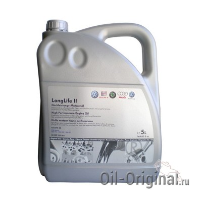 Моторное масло VOLKSWAGEN LongLife 2 0W-30 (5л)