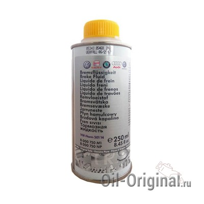 Тормозная жидкость VOLKSWAGEN Brake Fluid 501 14 (0,25л)
