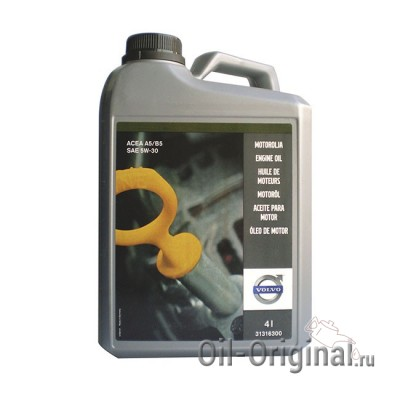 Моторное масло VOLVO Engine Oil 5W-30 (4л)