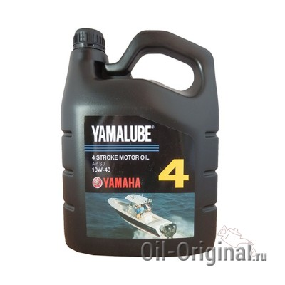 Моторное масло YAMALUBE 4 Stroke Motor Oil 10W-40 (4л)
