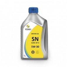 Моторное масло YOKKI 5W-30 SN (1л)