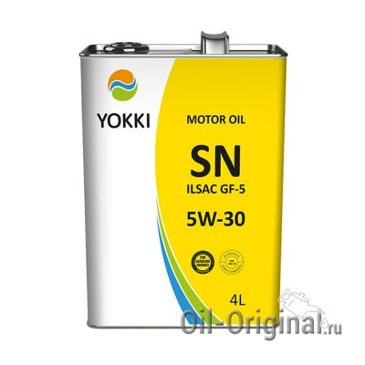 Моторное масло YOKKI 5W-30 SN (4л)
