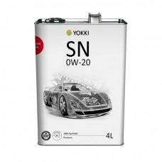 Моторное масло YOKKI Premium 0W-20 SN (4л)