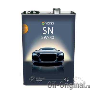 Моторное масло YOKKI Experience 5W-30 SN/CF (4л)