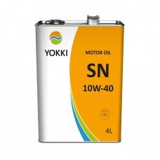Моторное масло YOKKI 10W-40 SN/CF (4л)