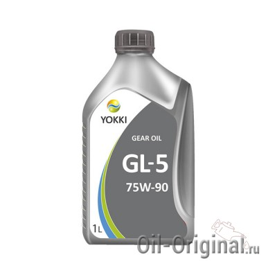Трансмиссионное масло YOKKI IQ Synt Gear 75W-90 GL-5 (1л)