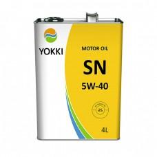 Моторное масло YOKKI 5W-40 SN/CF (4л)