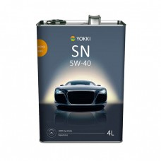 Моторное масло YOKKI Experience 5W-40 SN/CF (4л)